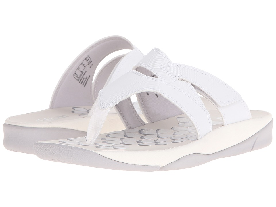 Clarks - Tresca Track (White) Women's Shoes