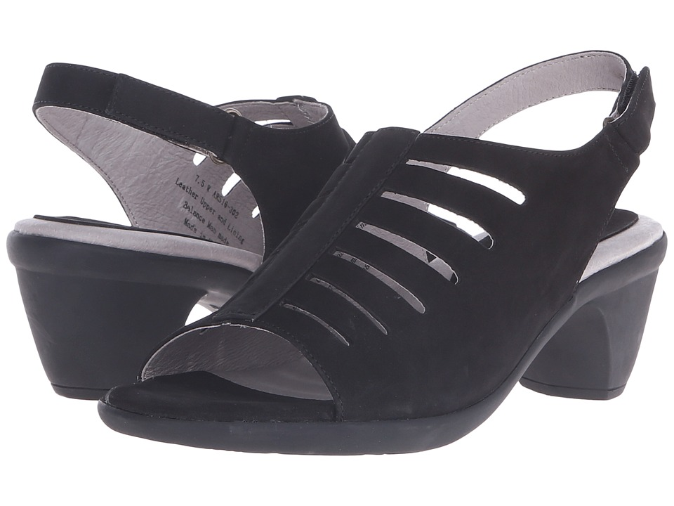David Tate - Lexus (Black) Women's Sandals