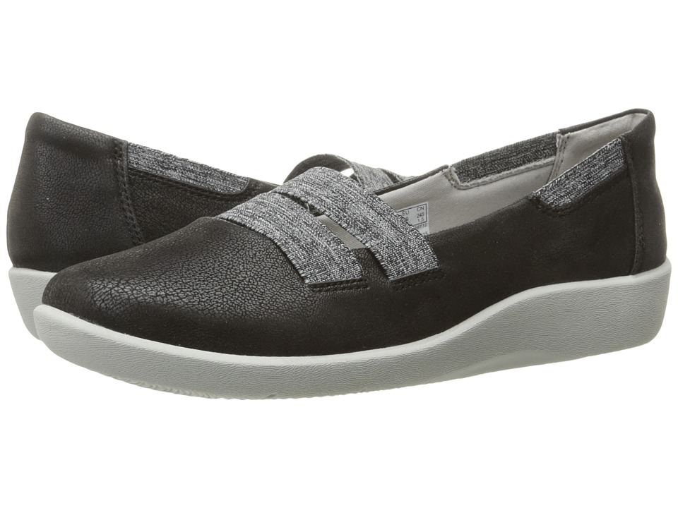 Clarks - Sillian Rest (Black) Women's Shoes