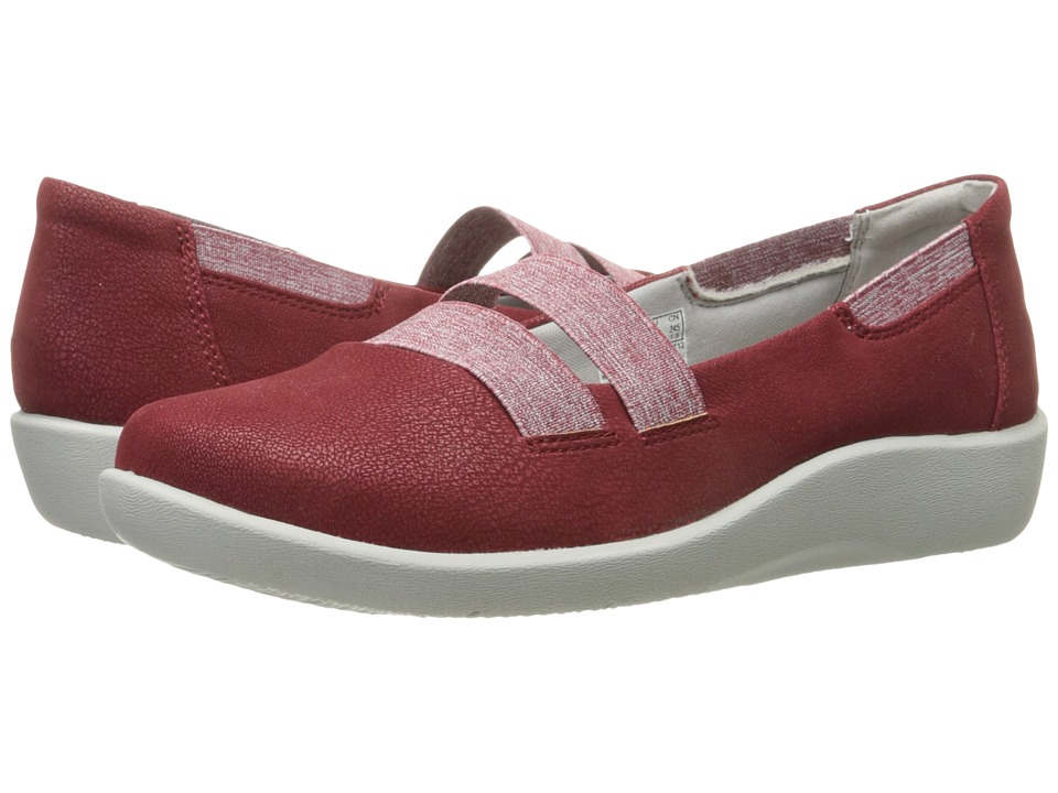 Clarks - Sillian Rest (Cherry) Women's Shoes