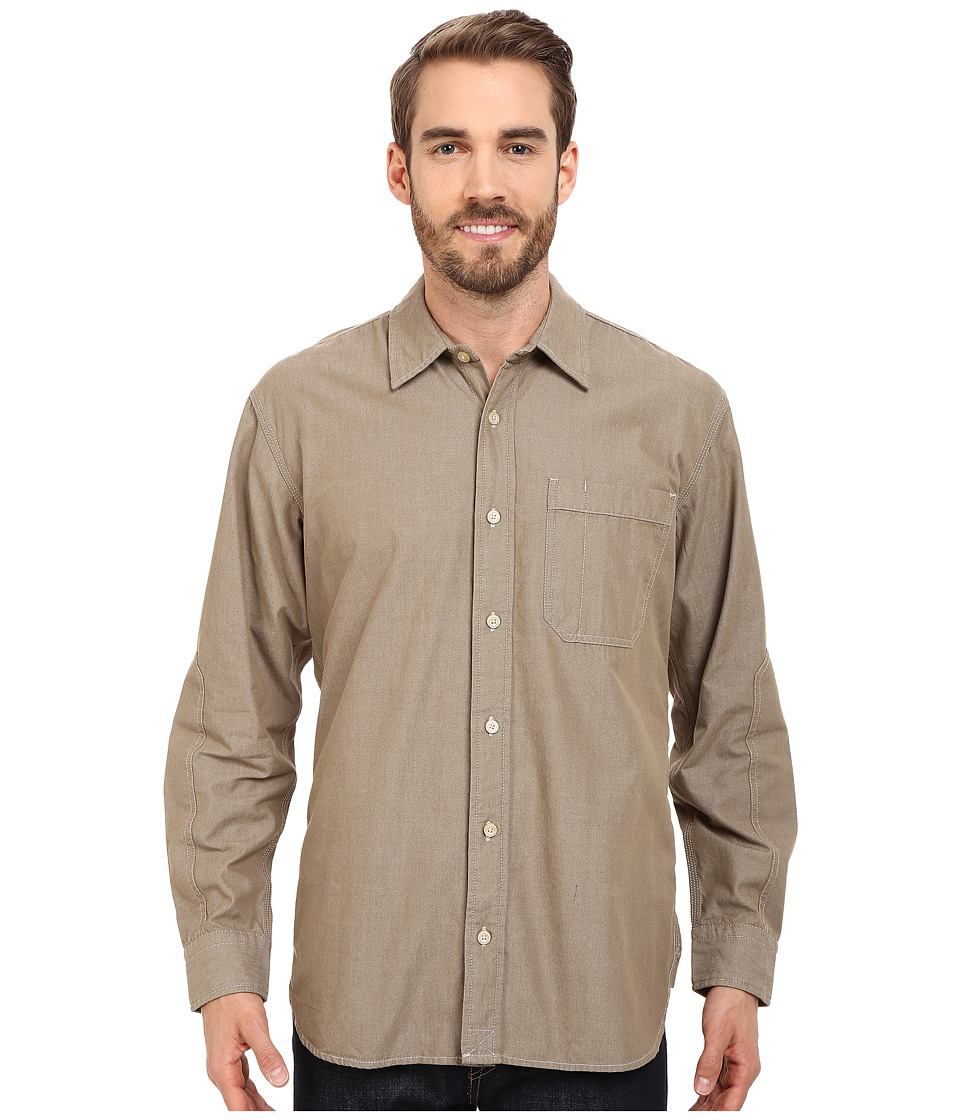 Filson - Westport Chambray Shirt (Dark Tan) Men's Clothing