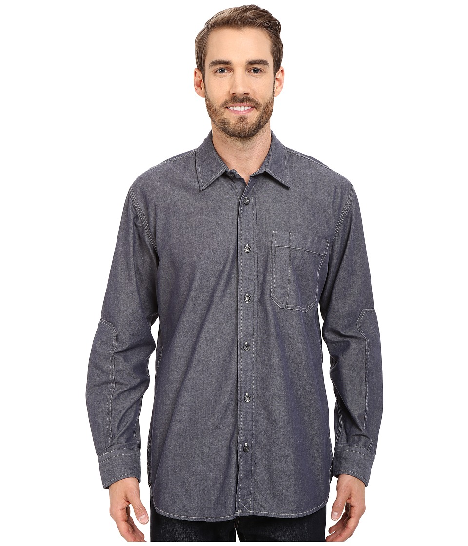 Filson - Westport Chambray Shirt (Chambray Blue) Men's Clothing