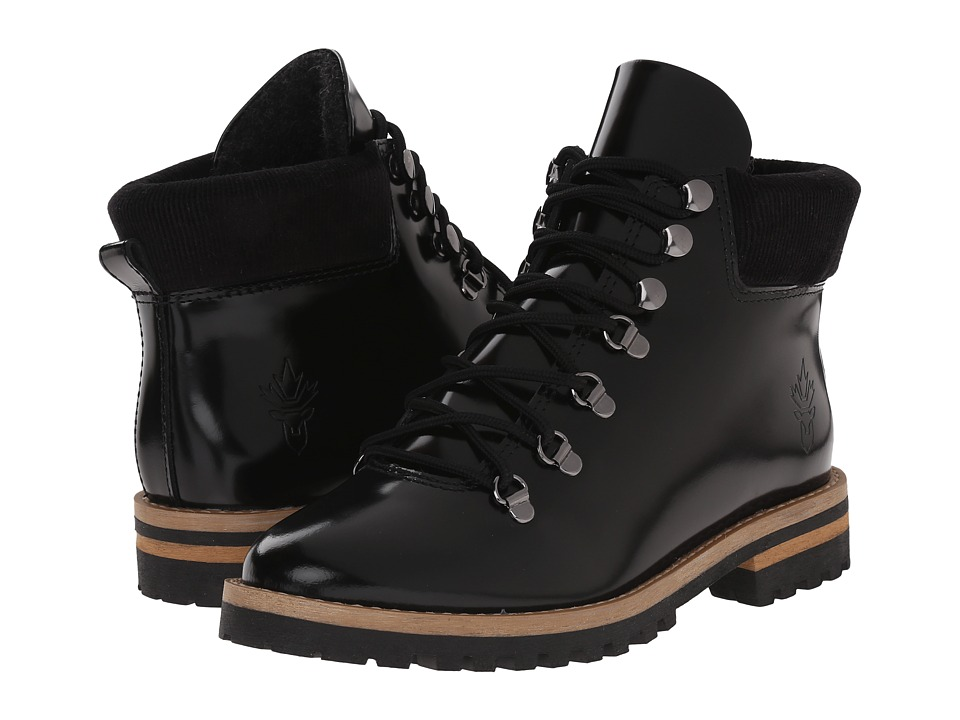 Blondo - Waker Waterproof (Black Box Calf Leather) Women