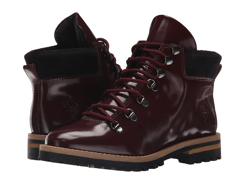 Blondo - Waker Waterproof (Burgundy Box Calf Leather) Women