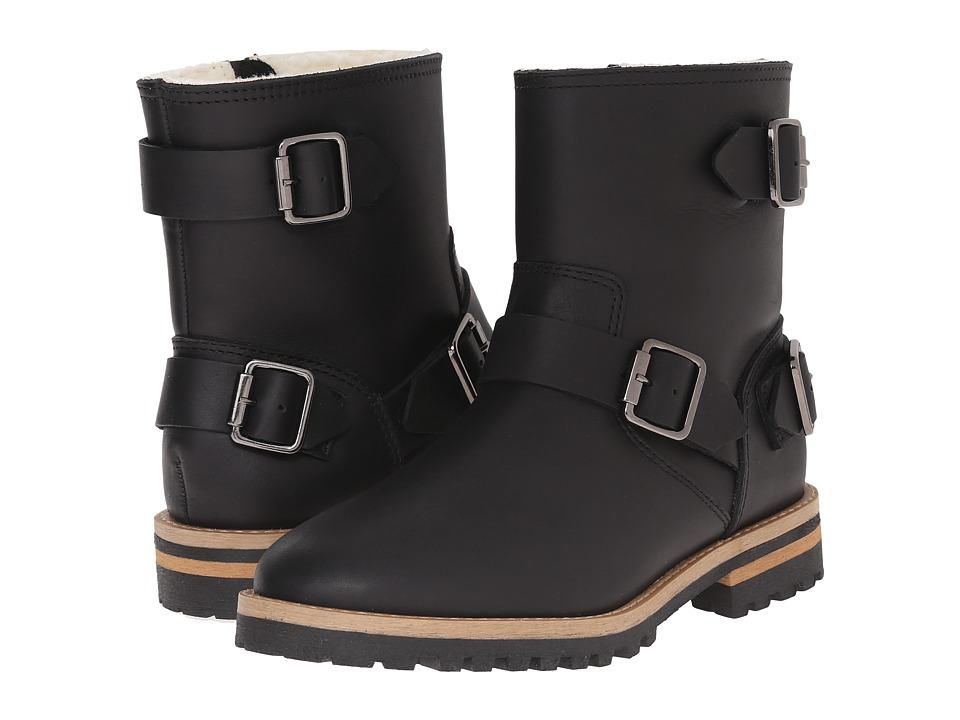 Blondo - Willow Waterproof (Black Veg Leather) Women's Boots