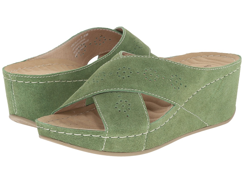 David Tate - Savanah (Avocado) Women's Sandals