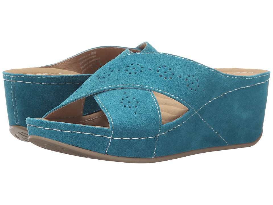 David Tate - Savanah (Teal) Women's Sandals