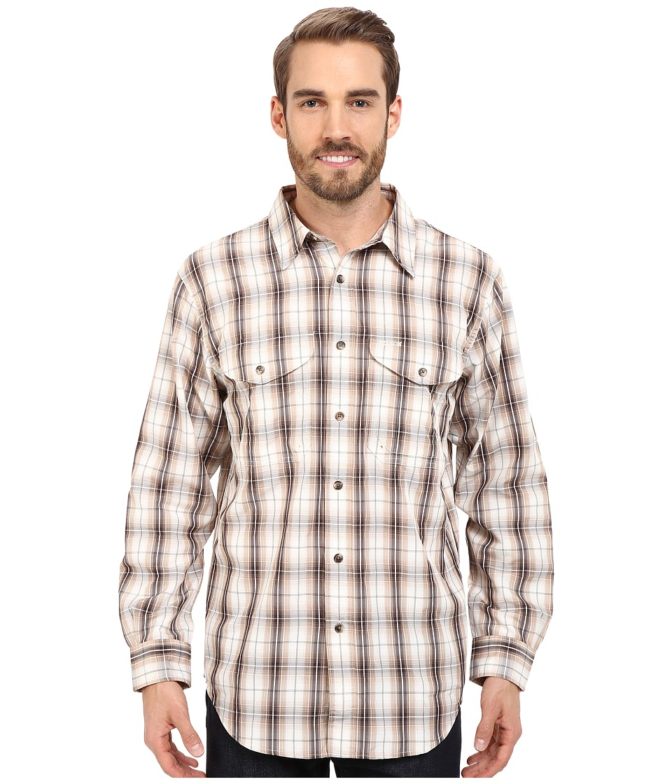Filson - Twin Lakes Sport Shirt (Brown/Stucco) Men's Clothing