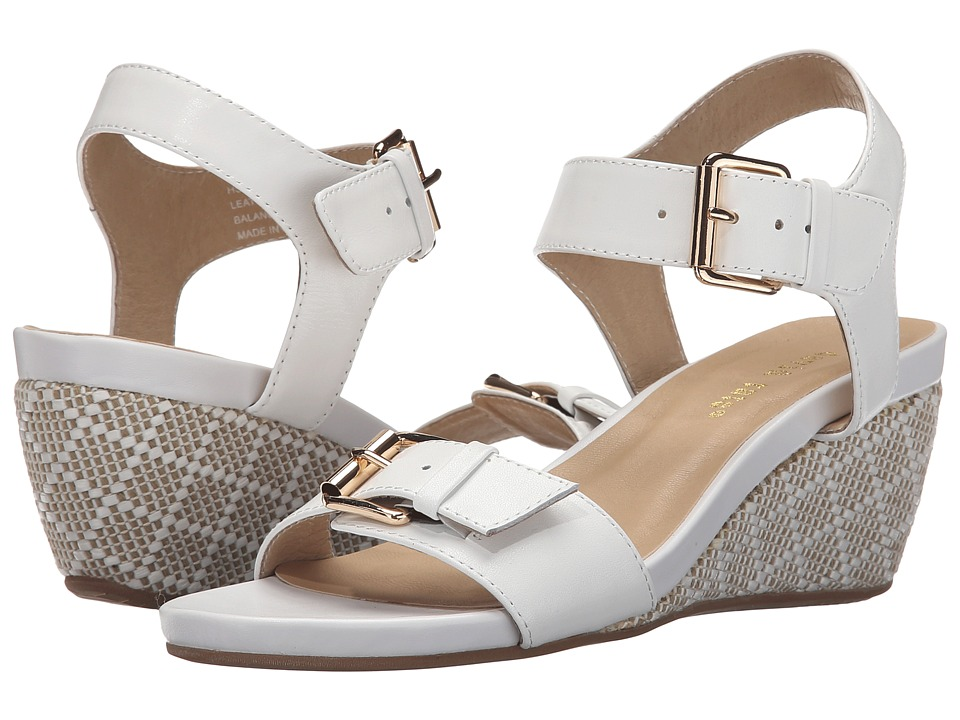 David Tate - Touch (White) Women's Sandals
