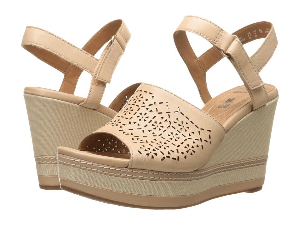 Clarks - Zia Graze (Nude) Women's Shoes