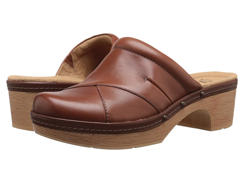 Clarks - Preslet Sheen (Tan) Women's Shoes