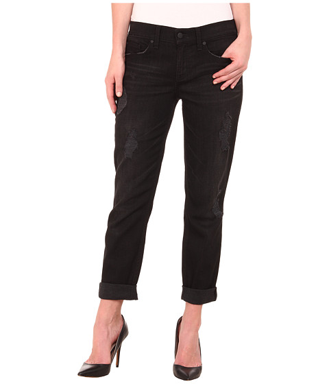 Level 99 - Sienna Tomboy in Licorice (Licorice) Women's Jeans