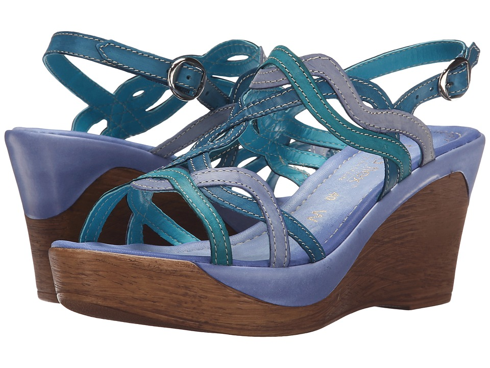 David Tate - Alto (Blue) Women's Sandals