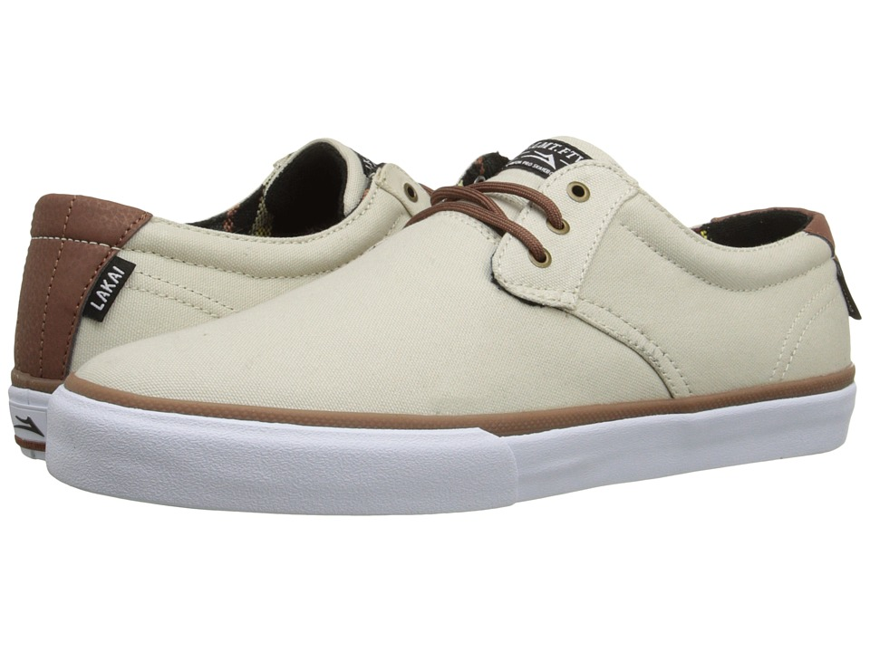 Lakai - MJ (Cream Canvas) Men's Skate Shoes