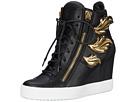 Hi-Top Wedge Winged Sneaker