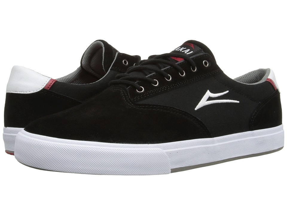Lakai GuyMar (Black Suede/Canvas 1) Men