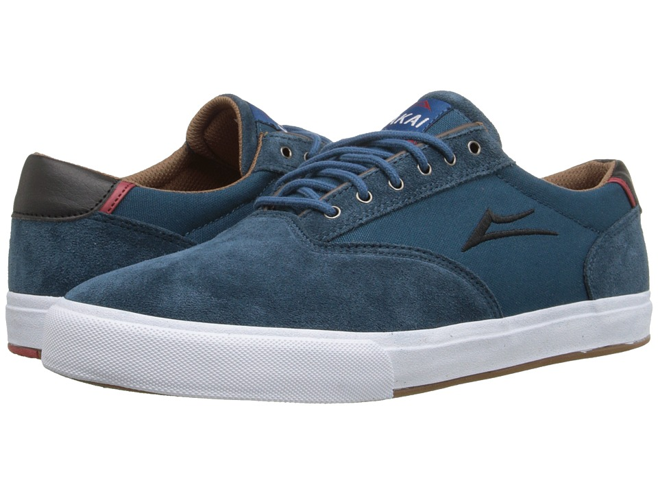 Lakai - GuyMar (Ink Blue Suede) Men's Skate Shoes