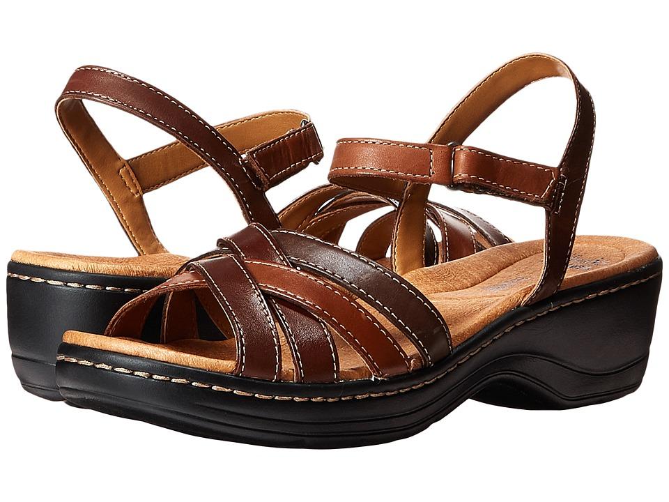 Clarks - Hayla Pier (Brown Multi) Women's Shoes