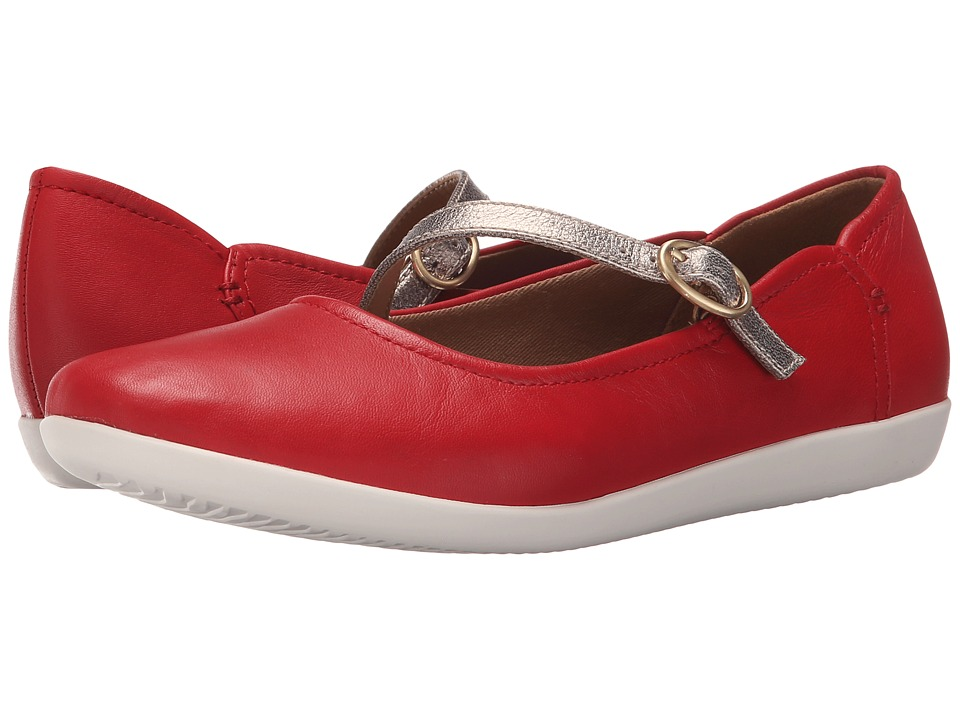 Clarks - Helina Amo (Red) Women's Shoes