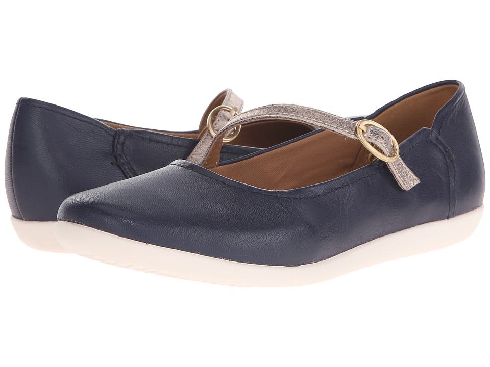 Clarks - Helina Amo (Navy) Women's Shoes