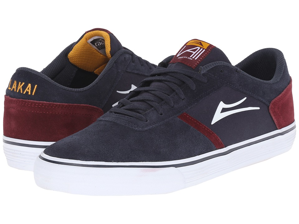 Lakai - Vincent 2 (Navy Suede) Men's Skate Shoes