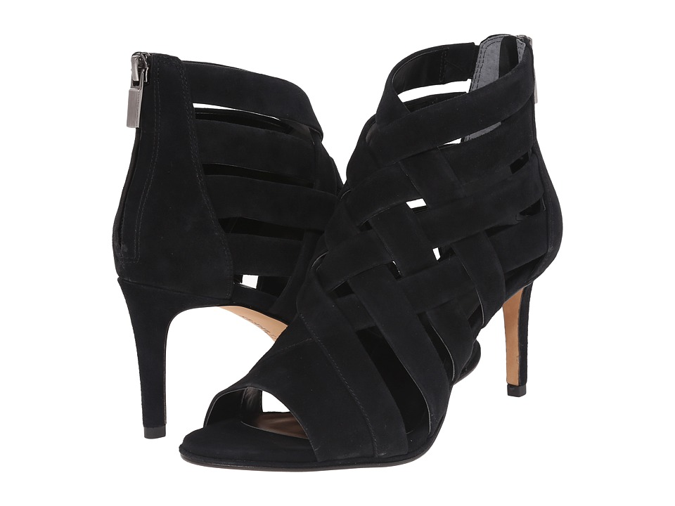 Kenneth Cole New York Mercury (Black Suede) High Heels
