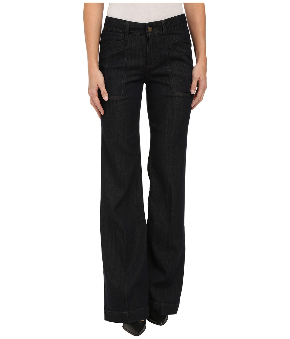 Level 99 - Eve Mid Rise Wide Leg in Rousseau (Rousseau) Women's Jeans