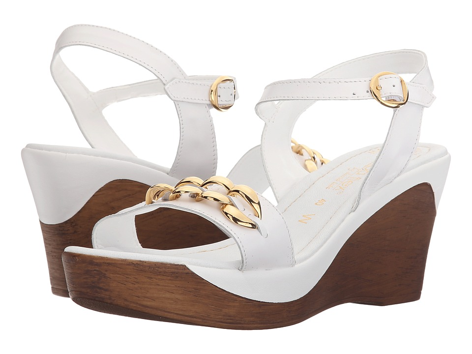 David Tate - Club (White) Women's Sandals