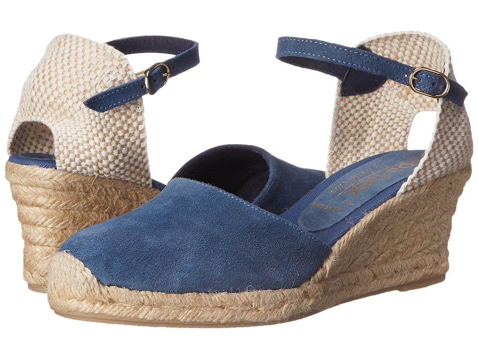 David Tate - Europa (Denim) Women's Wedge Shoes