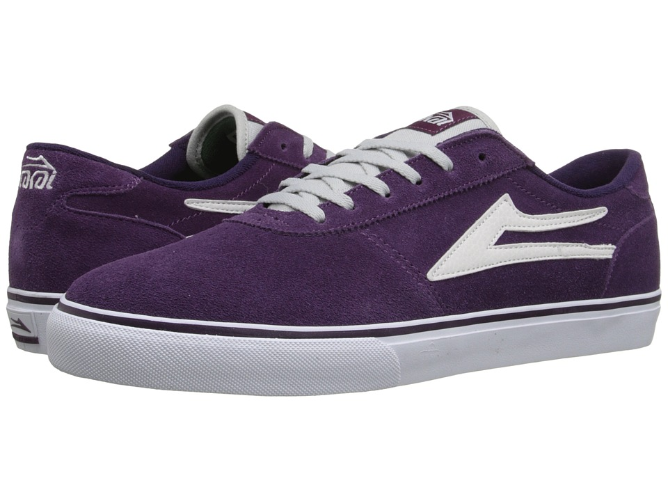 Lakai - Manchester (Purple Suede) Men's Shoes