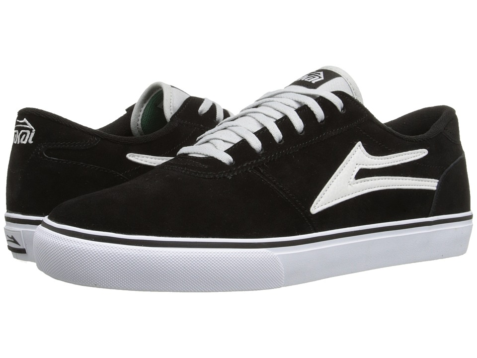 Lakai - Manchester (Black Suede) Men's Shoes
