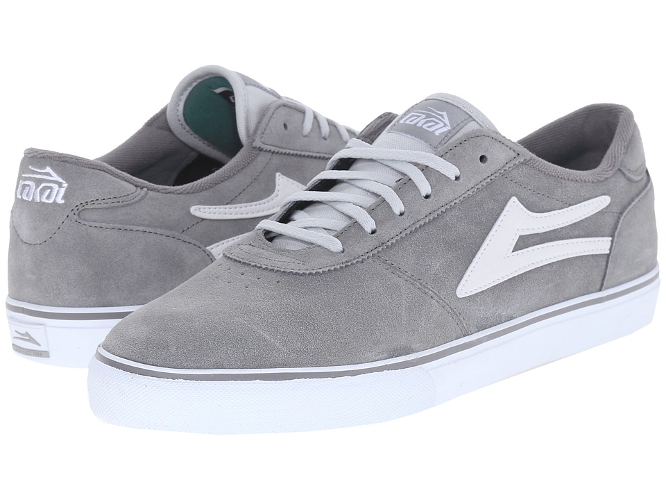 Lakai - Manchester (Grey Suede) Men's Shoes