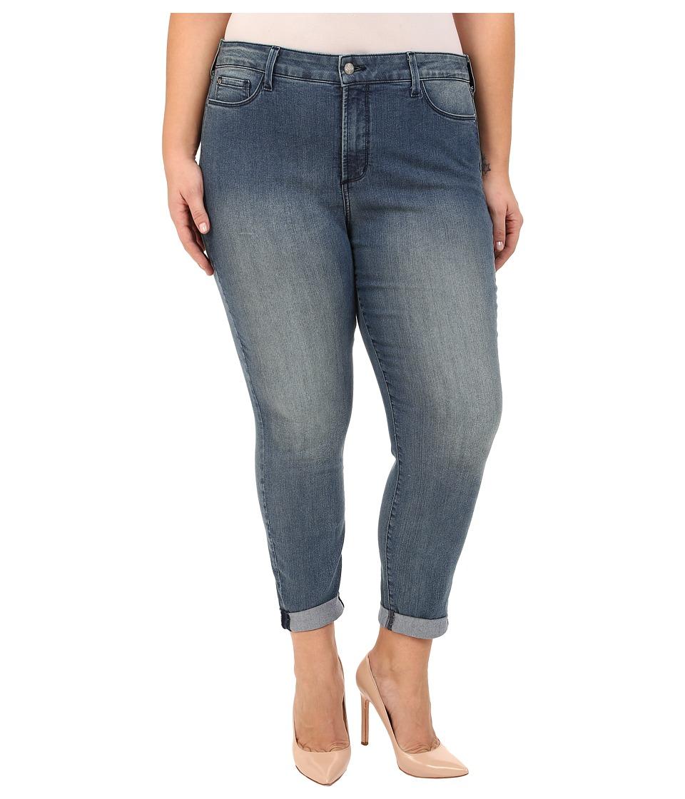 NYDJ Plus Size - Plus Size Anabelle Skinny Boyfriend in Karval Wash (Karval Wash) Women's Jeans