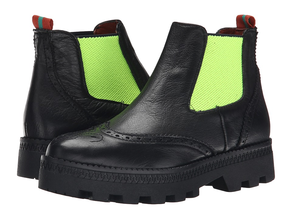 Penelope Chilvers - Alpine Brogue (Black/Green) Women