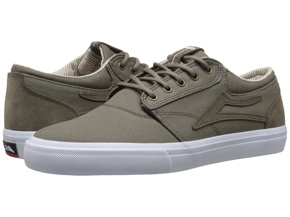 Lakai - Griffin (Walnut Canvas) Men's Skate Shoes