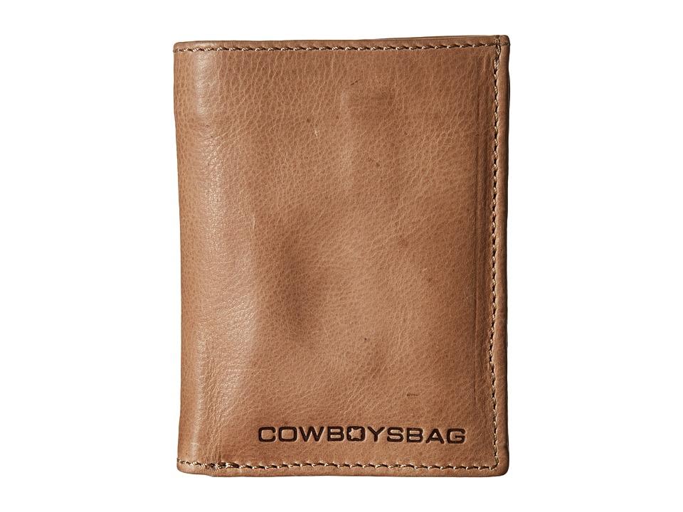 COWBOYSBELT - Haledon (Stone) Wallet Handbags