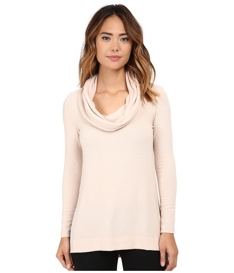 Michael Stars - Super Soft Madison Jersey Cowl Neck Tunic (Chantilly) Women's Sweater