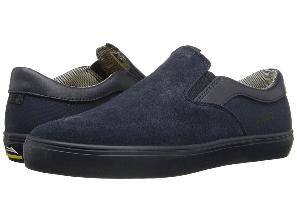 Lakai - Owen (Navy Suede 2) Men's Skate Shoes