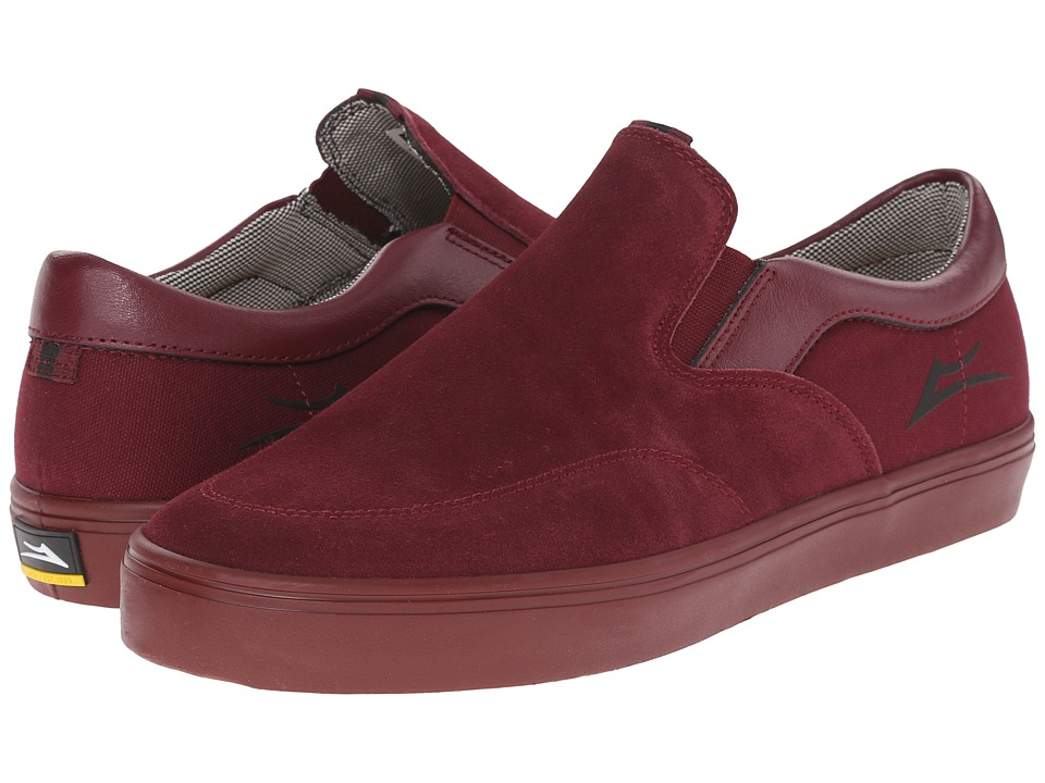 Lakai - Owen (Burgundy Suede) Men
