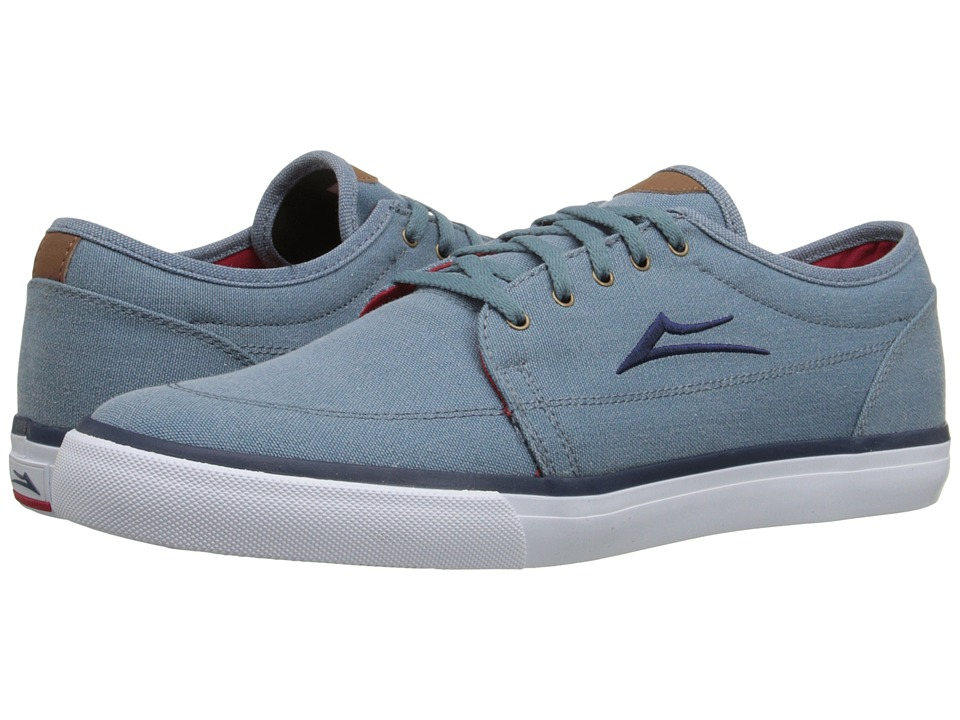 Lakai - Madison (Stonewash Canvas) Men's Skate Shoes