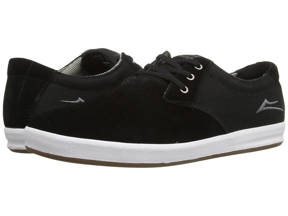 Lakai - MJ XLK (Black Suede) Men