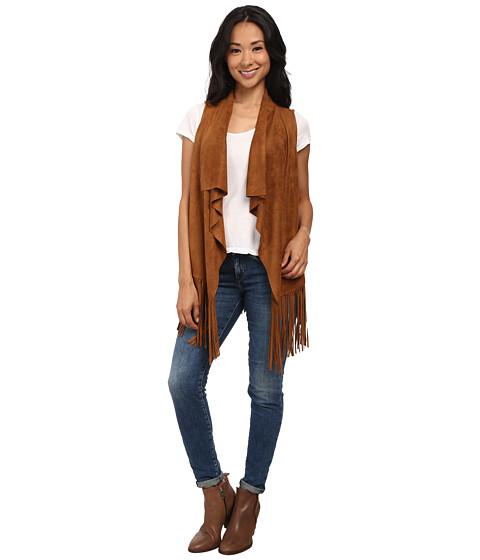 Gabriella Rocha - Daisy Fringe Vest (Camel) Women's Vest