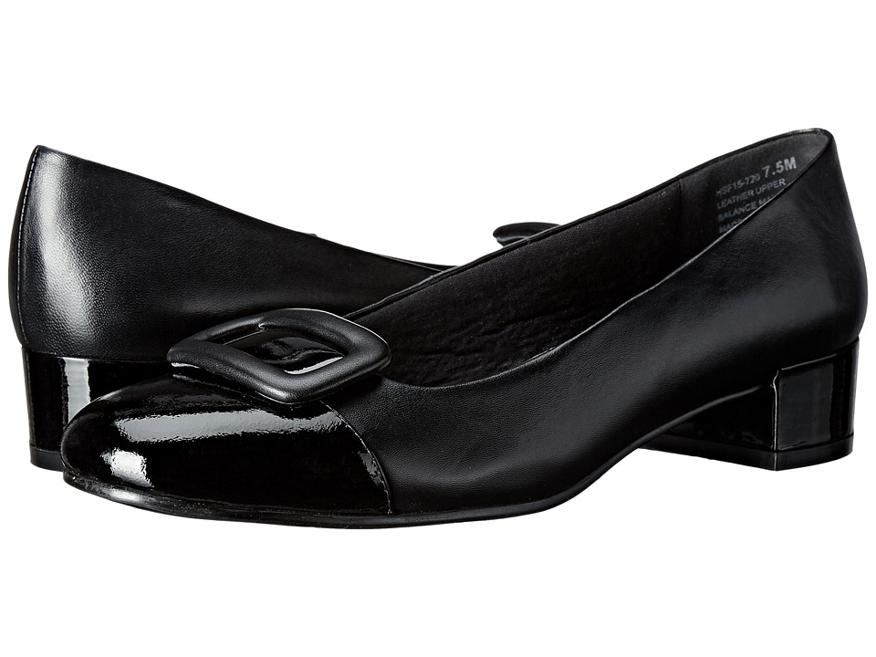 David Tate - Retro (Black) Women's 1-2 inch heel Shoes