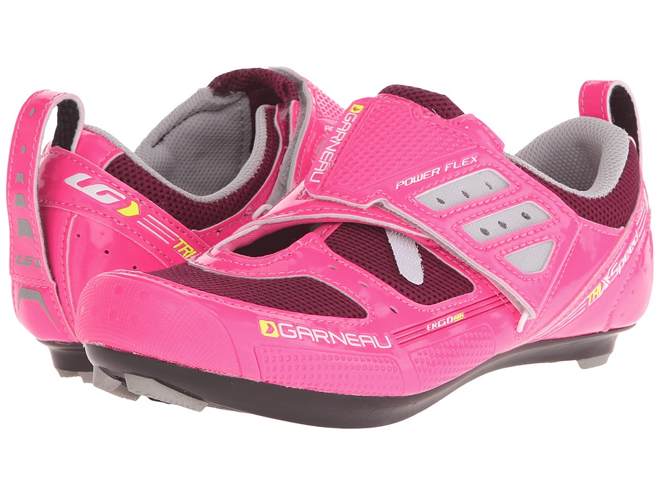 Louis Garneau - Tri X-Speed II (Pink Glow) Women's Cycling Shoes