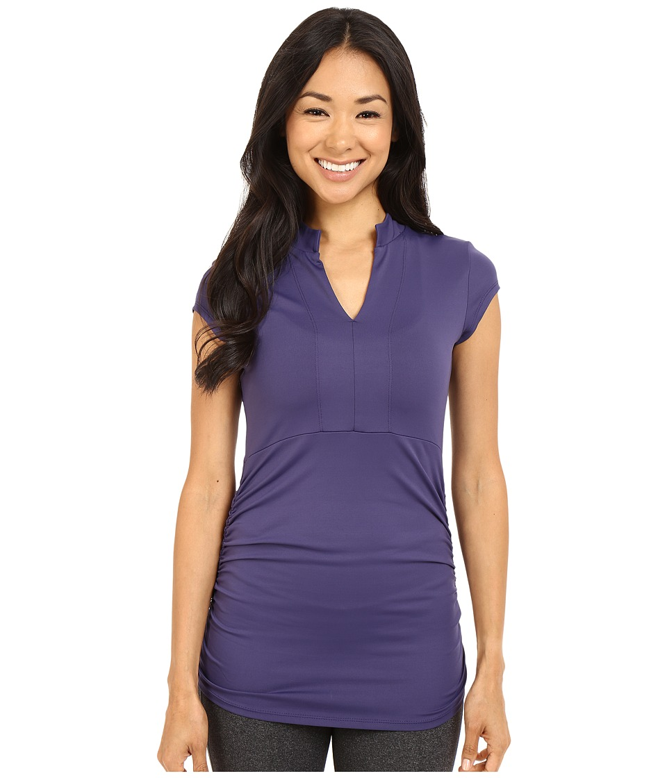 FIG Clothing - Mia Top (Gem) Women's Short Sleeve Pullover