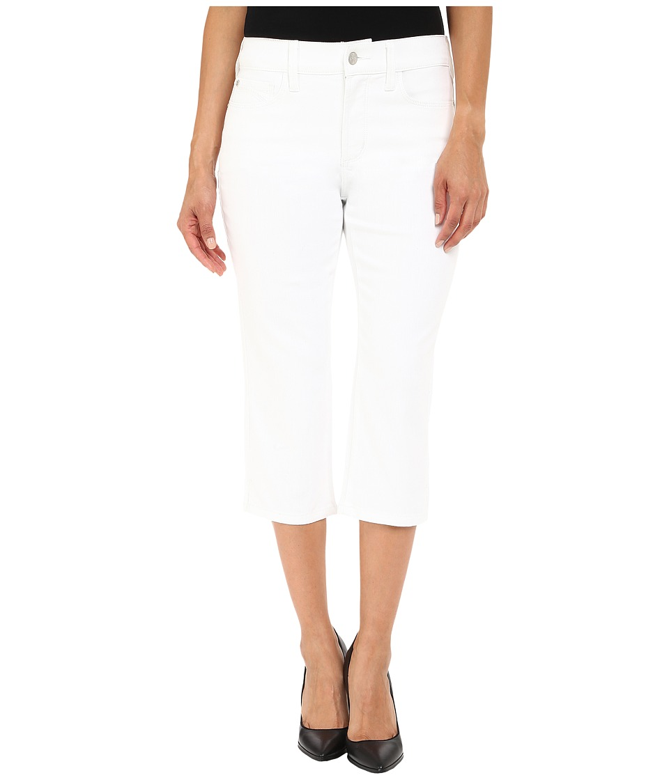 NYDJ Petite - Petite Ariel Crop in Optic White (Optic White) Women's Jeans