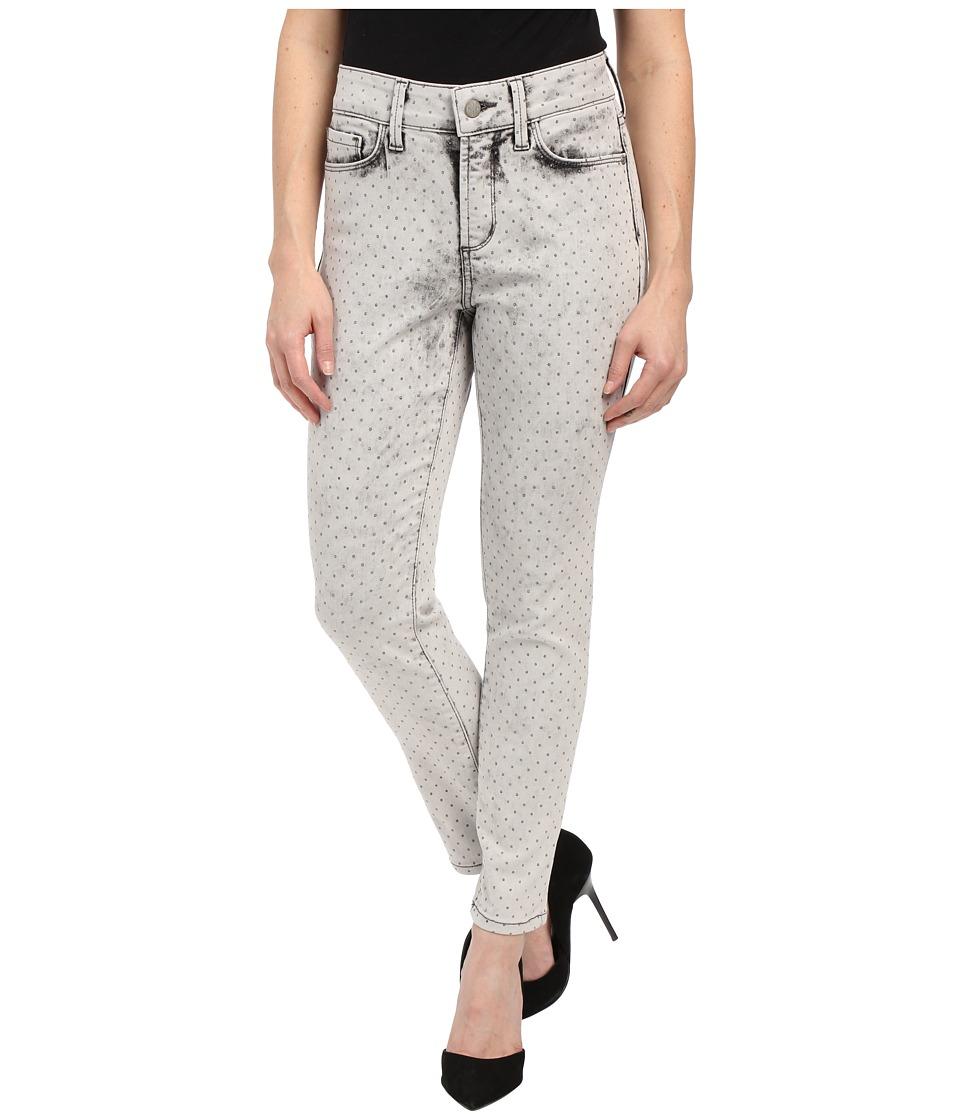 NYDJ Petite - Petite Clarissa Ankle in Metal Polka Dot (Metal Polka Dot) Women's Jeans