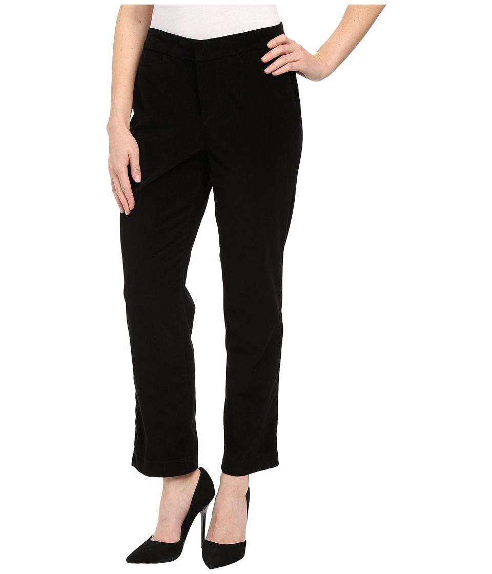 NYDJ Petite - Petite Corynna Ankle (Black) Women's Casual Pants