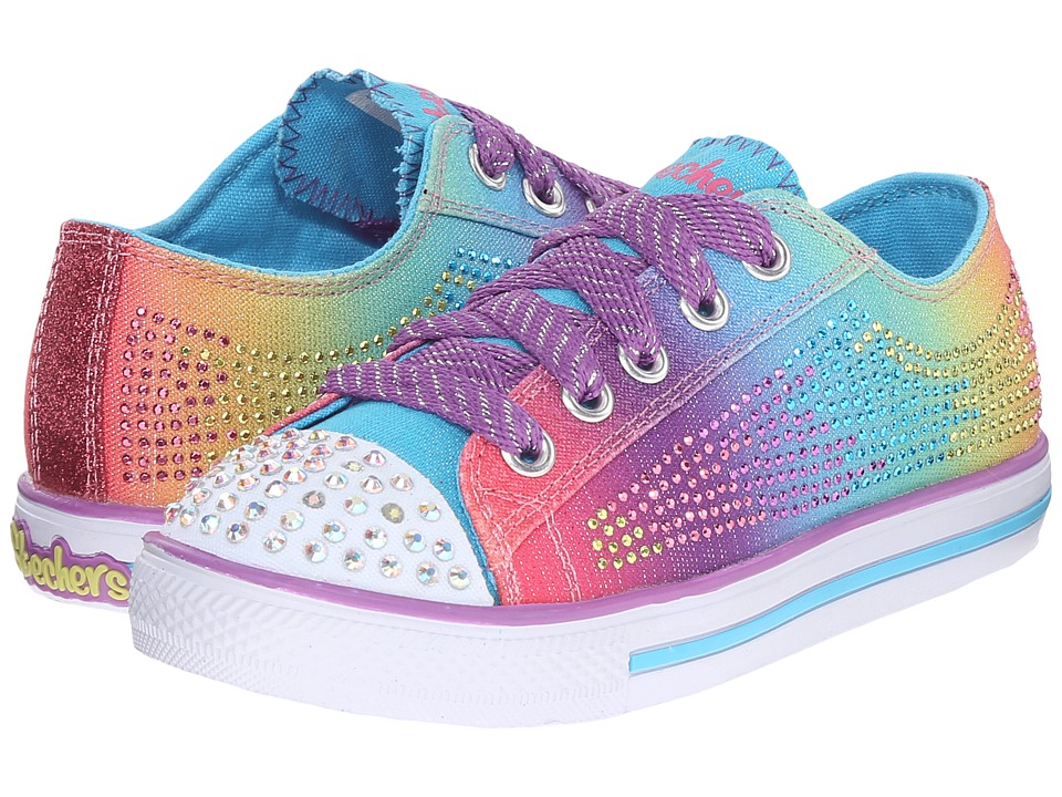 SKECHERS KIDS - Electro Spark 10574L Lights (Little Kid/Big Kid) (Multi) Girls Shoes