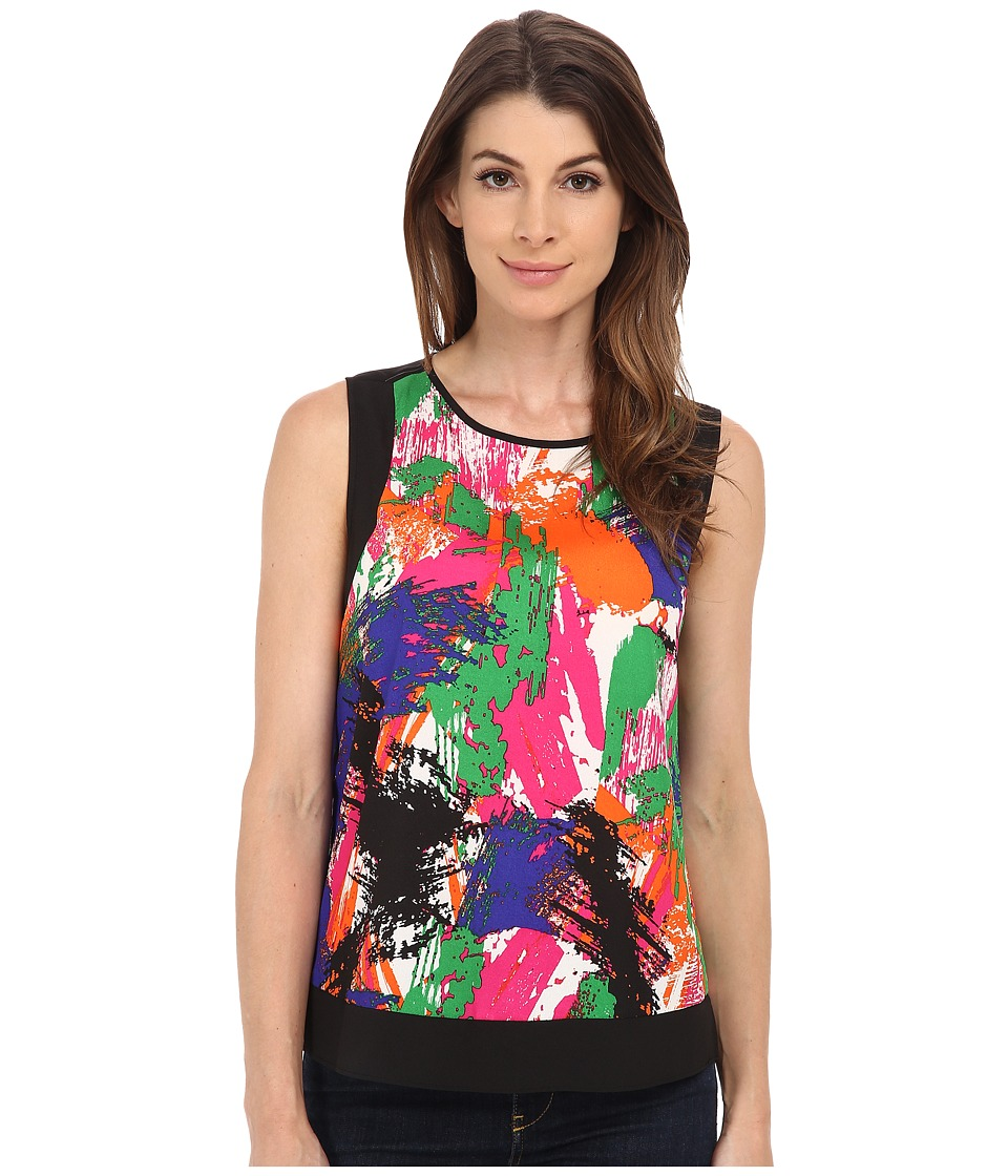 Calvin Klein - Sleeveless Woven Blouse (Byzantine) Women